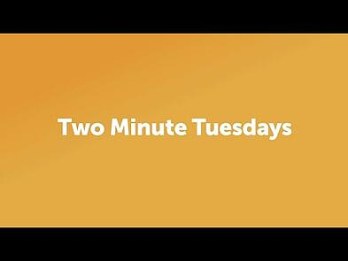 Two Minute Tuesdays - Meet Peter Deans